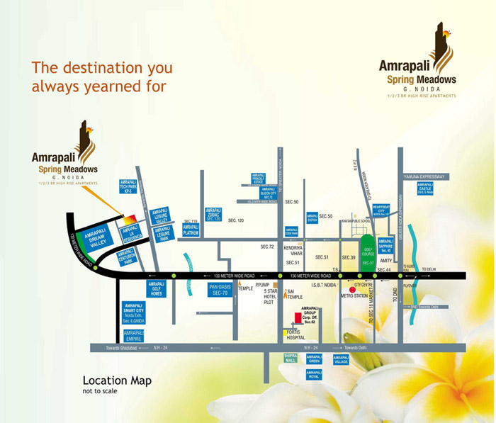 amrapali spring location map