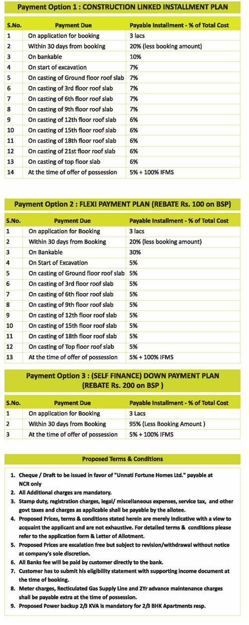 aranay homes payment plan