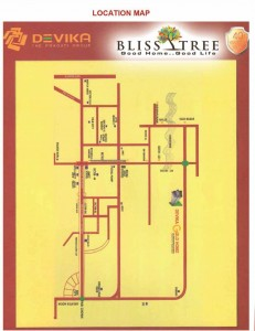devika gold homz location map