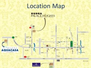 rudra aqua casa location map