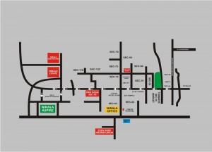 nirala estate location map