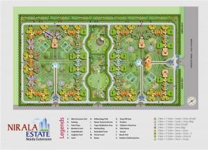 nirala estate site plan