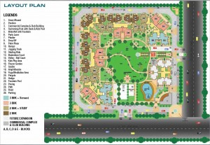 palm olympia site plan