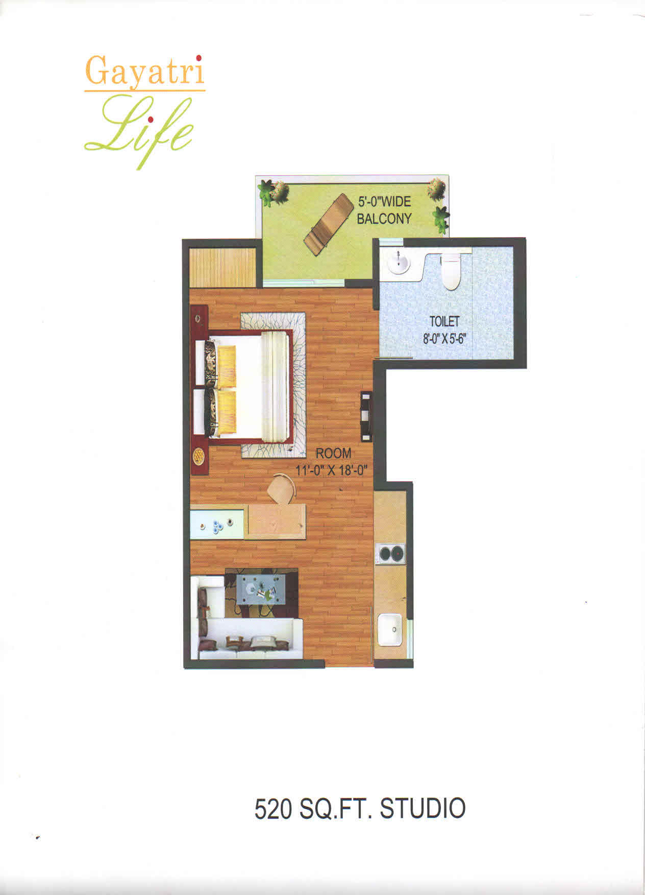 gayatri life floor plan1