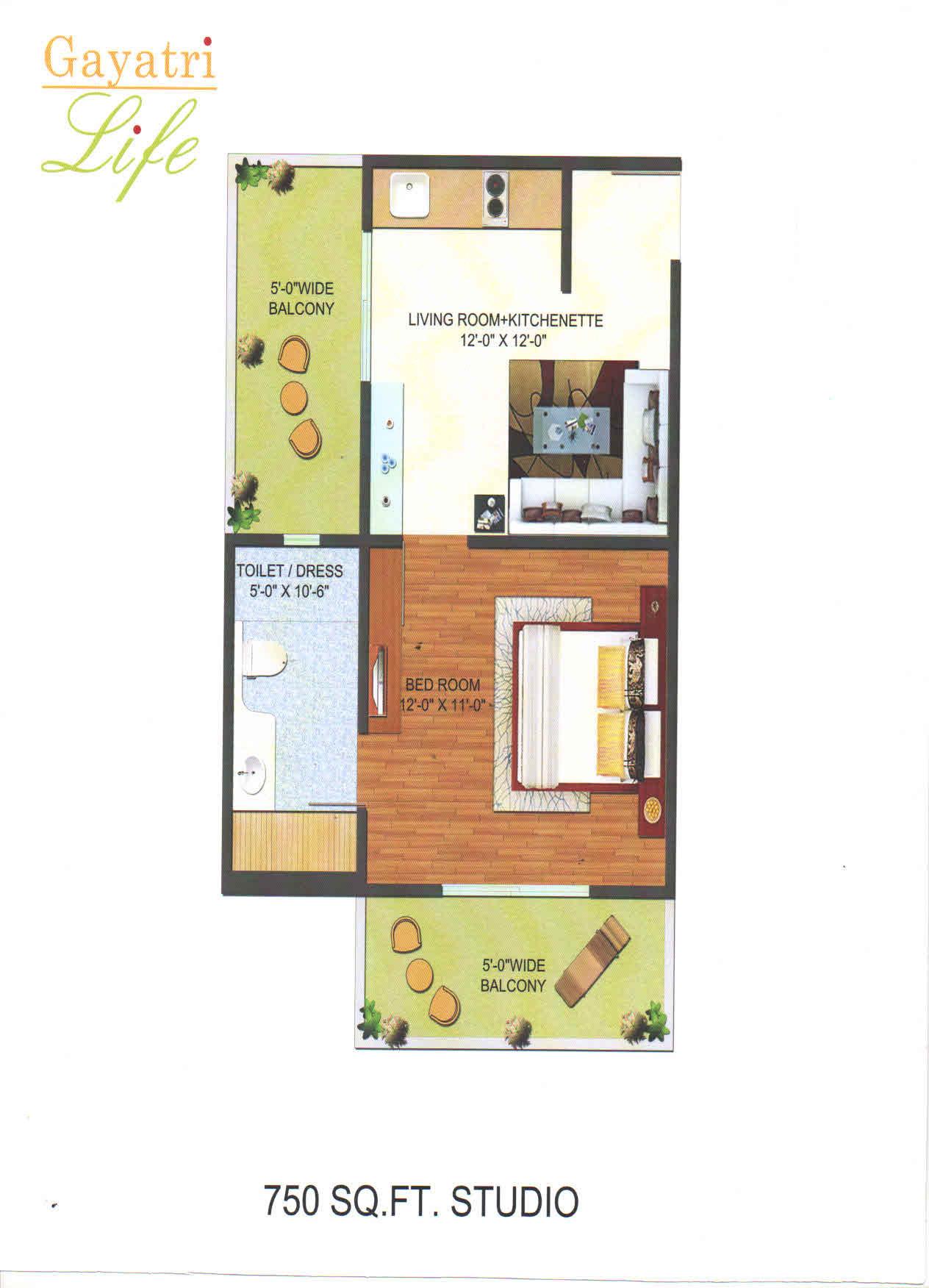 gayatri life floor plan2