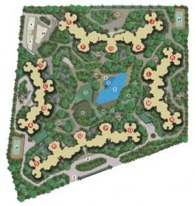 Amrapali Pan Oasis site plan