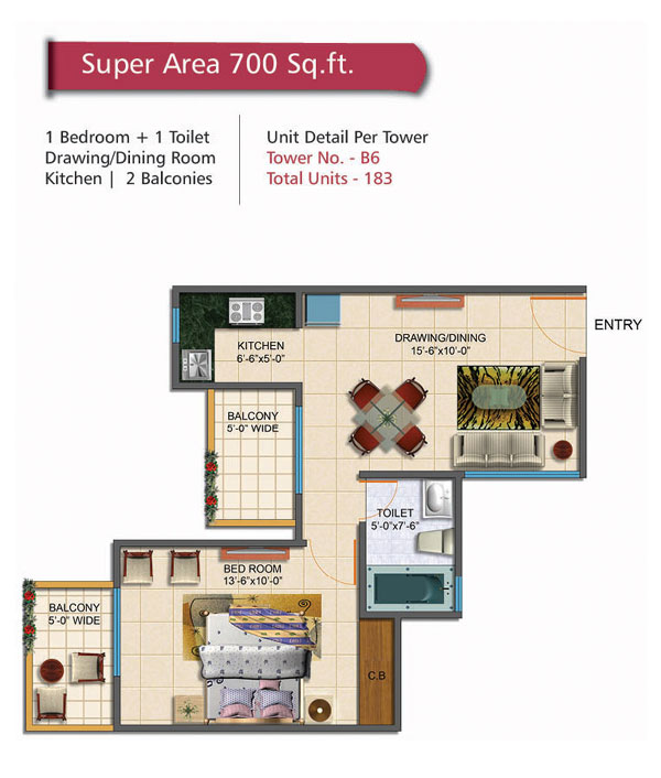 Rudra Palace Heights floor plan1