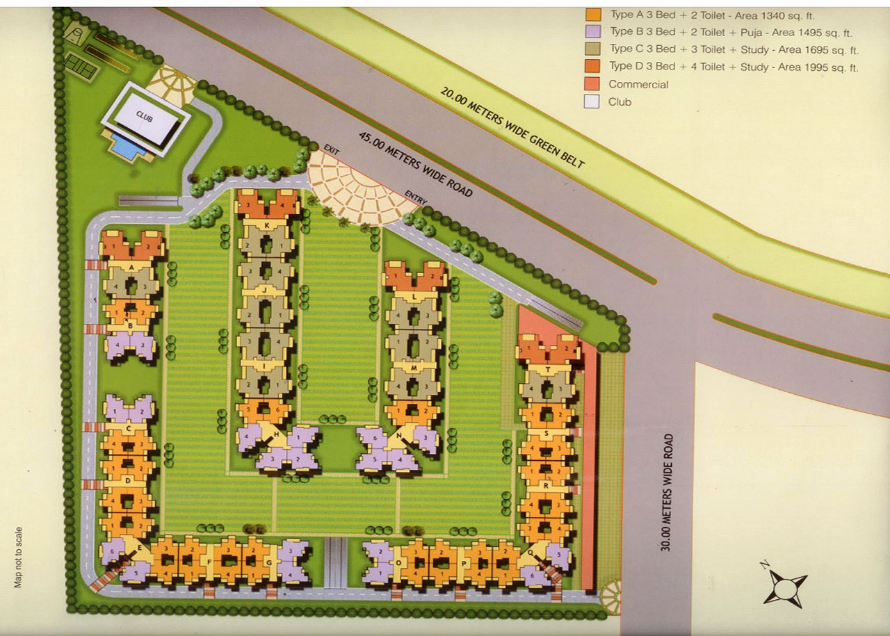 gulshan ikebana site plan