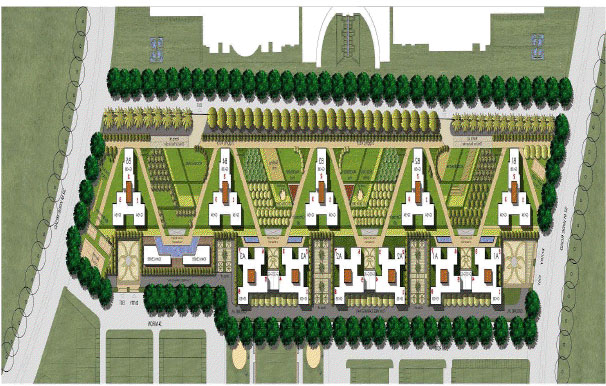 jaypee greens orchards site plan