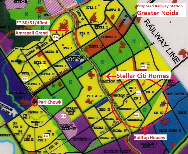 stellar mi citihomes location map