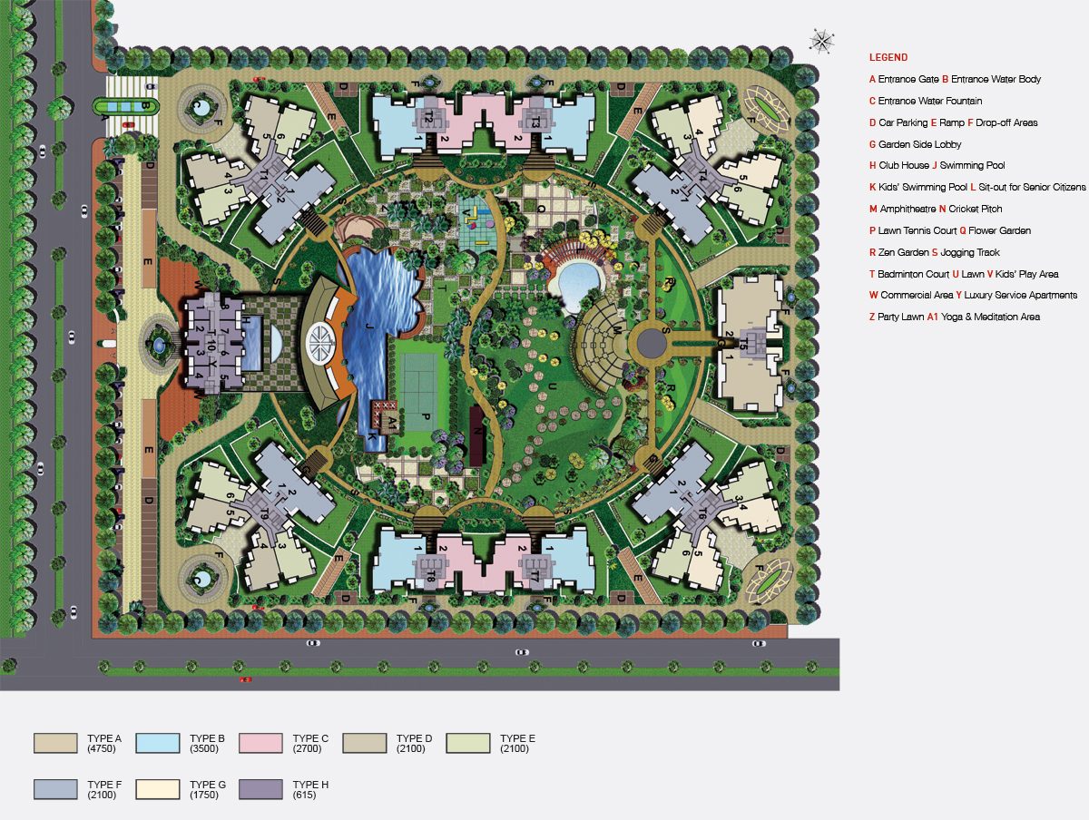 sunworld arista site plan