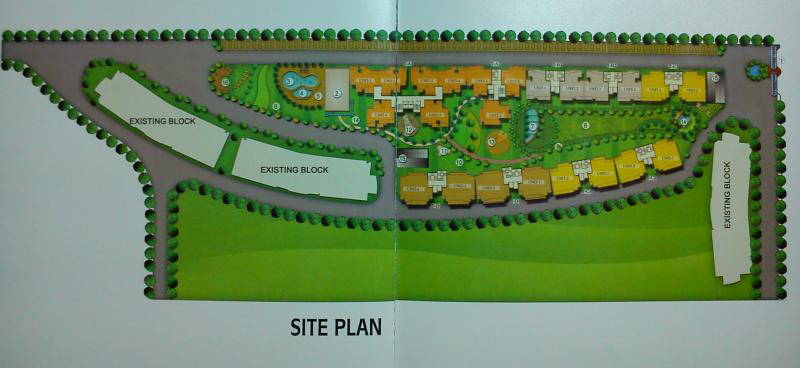 victory ace site plan