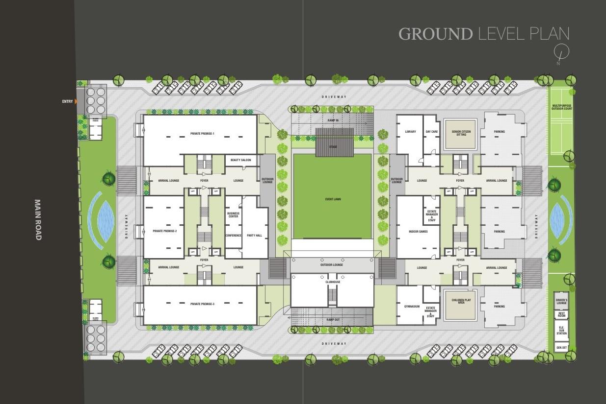 durva greens site plan