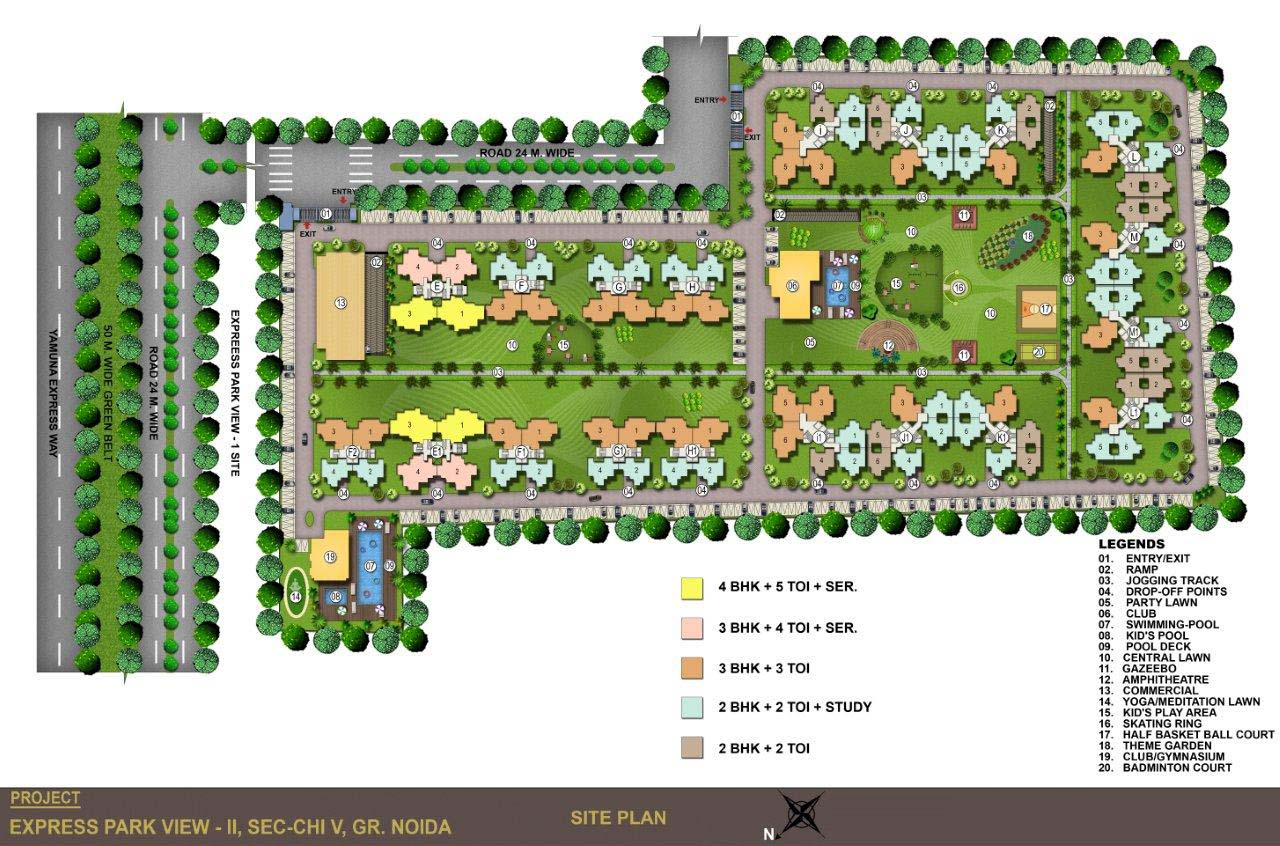 express park view site plan