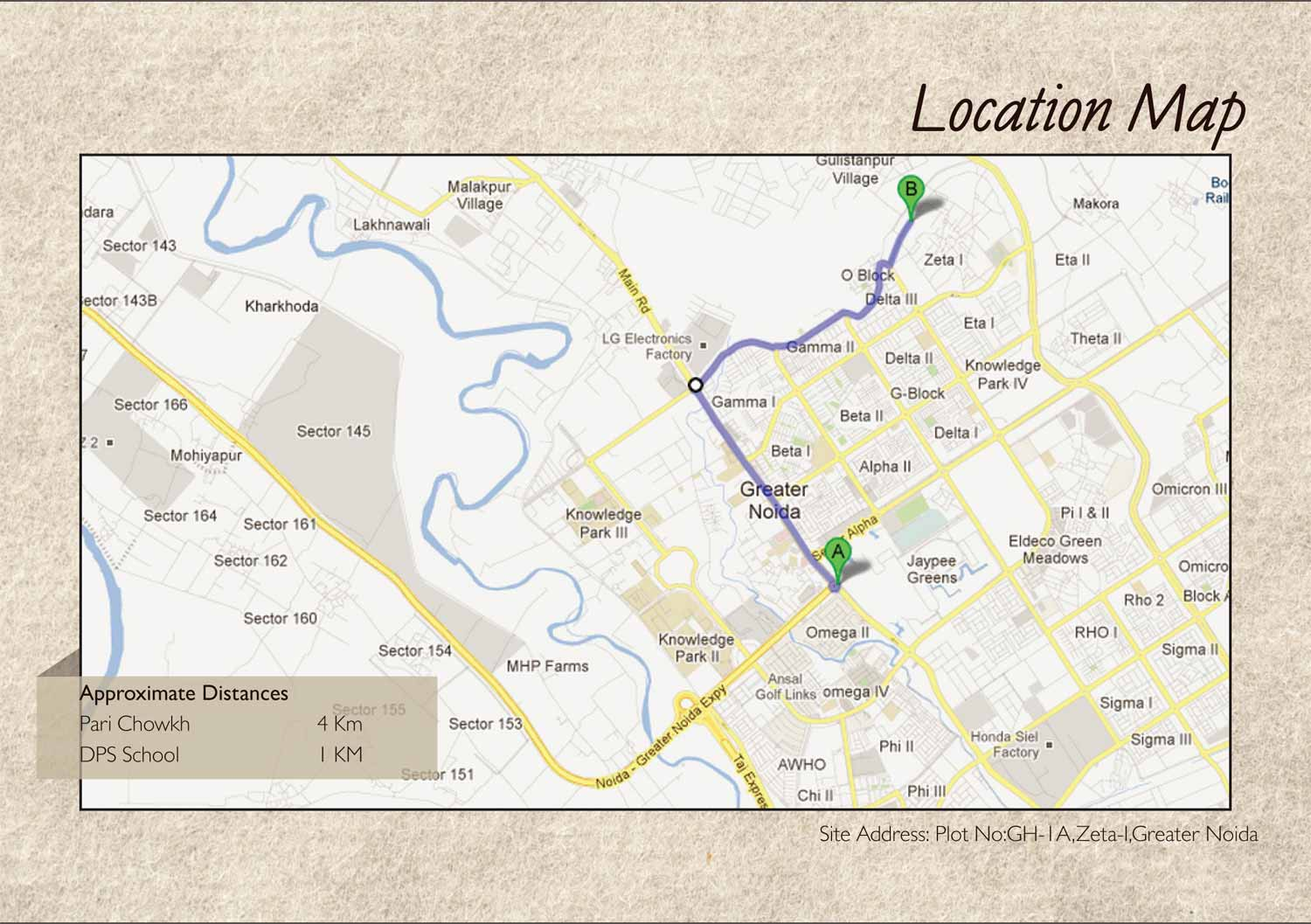 legacy location map