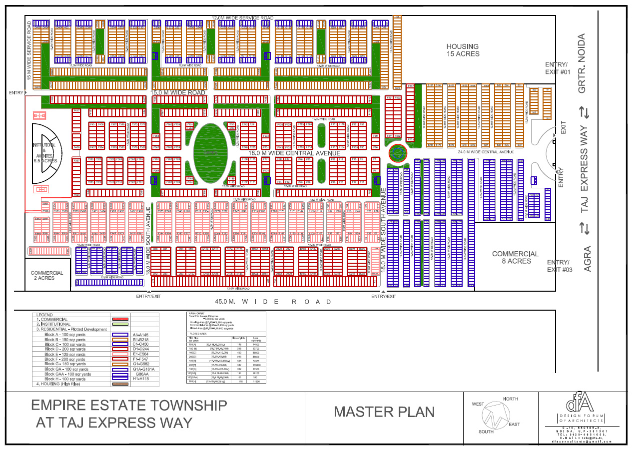 logix empire estate site plan