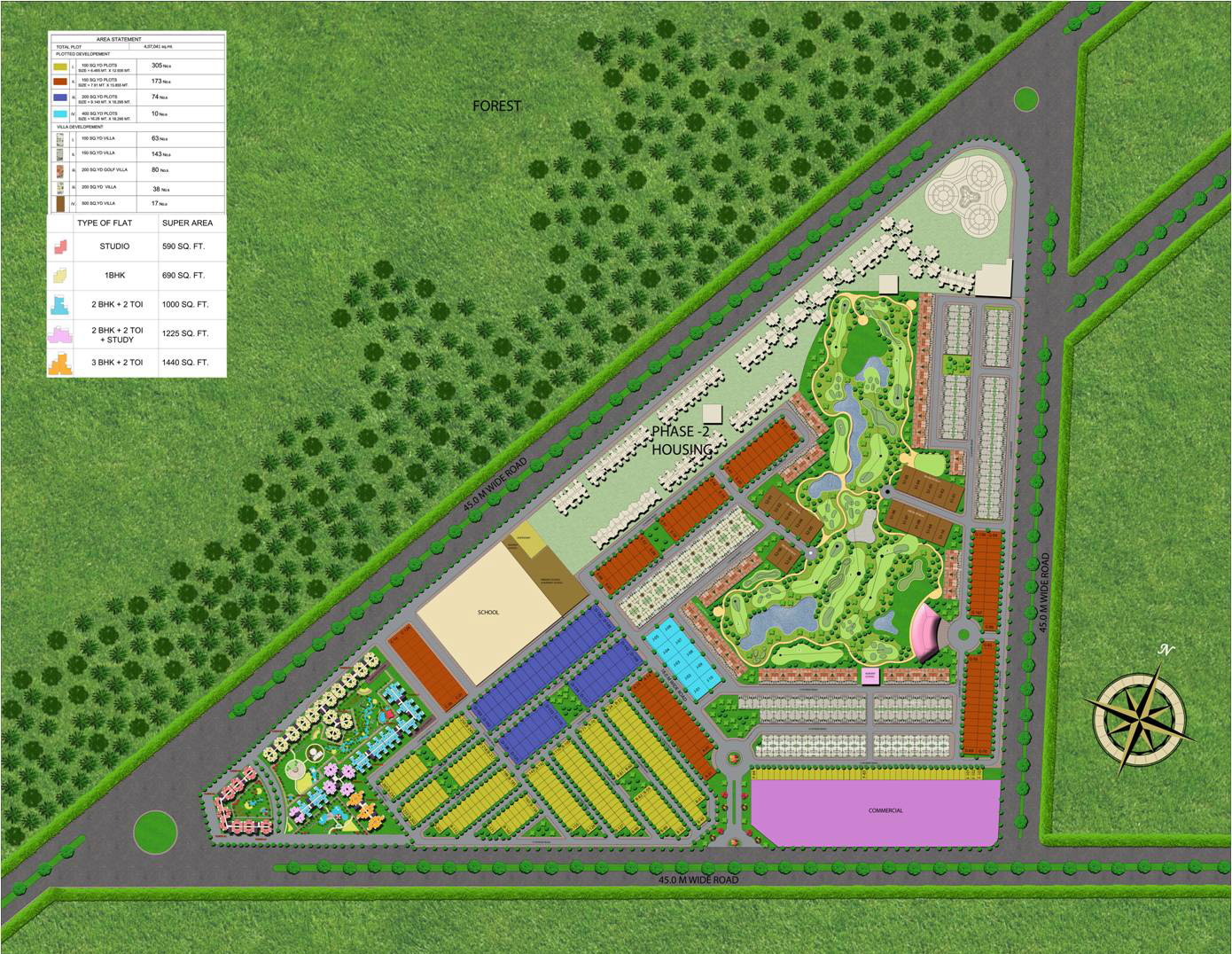 supertech golf village site plan