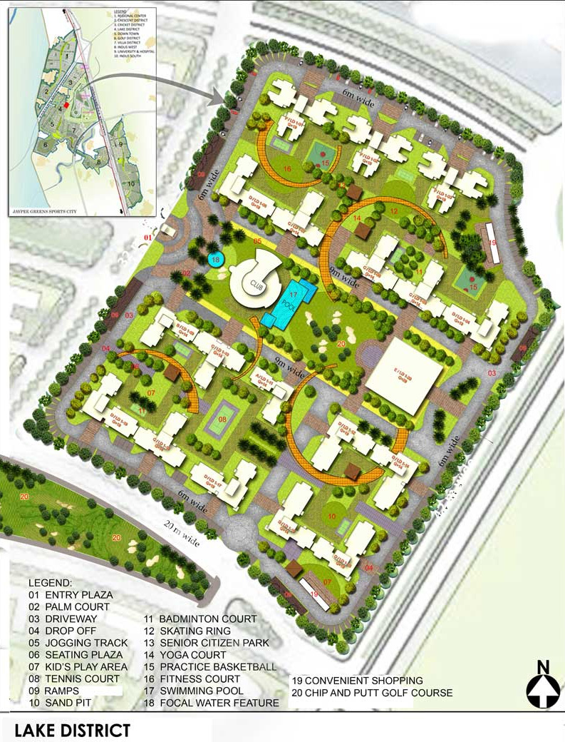 the kove site plan