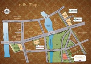 gaur mulberry mansions location map