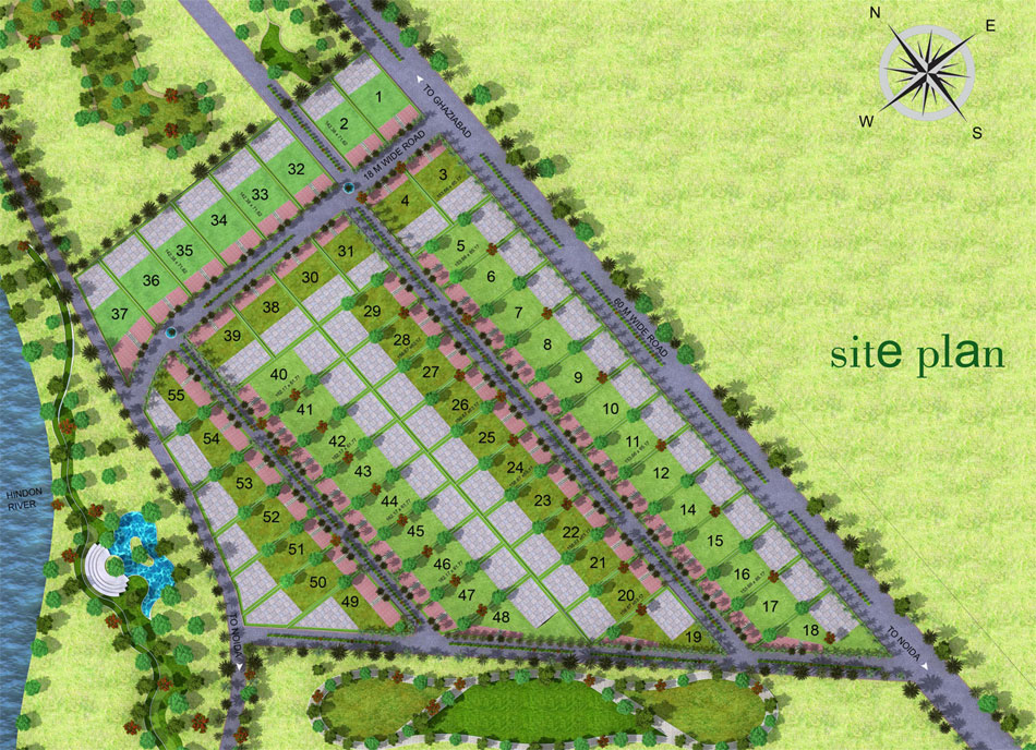 gaur mulberry mansions site plan