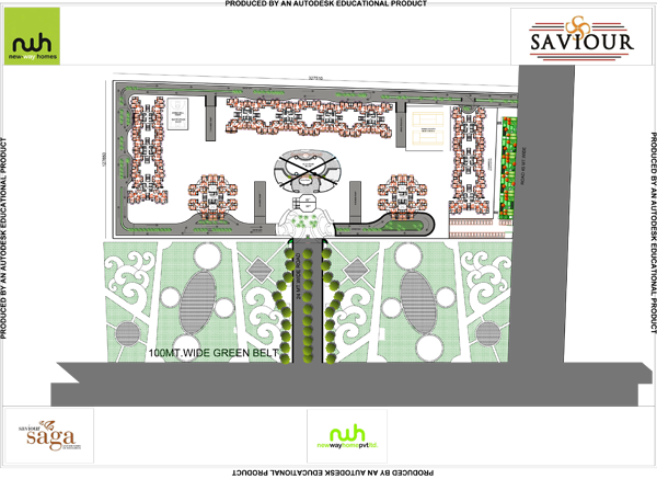 saviour saga site plan