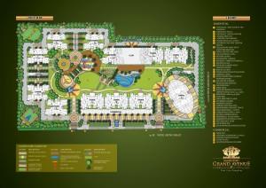 Samridhi grand avenue site plan