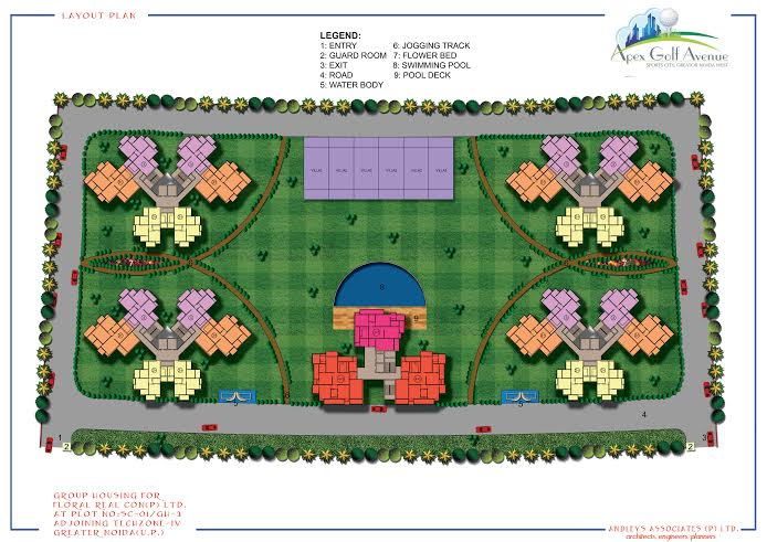 apex golf avenue site plan