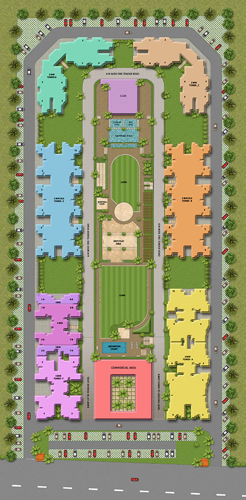 ace platinum site plan