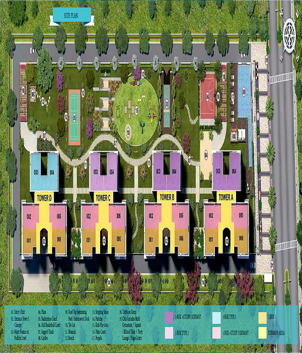 ratan pearls site plan