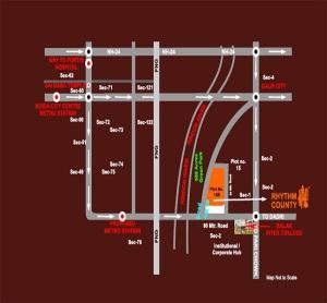 rhythm county location map
