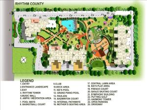 rhythm county site plan