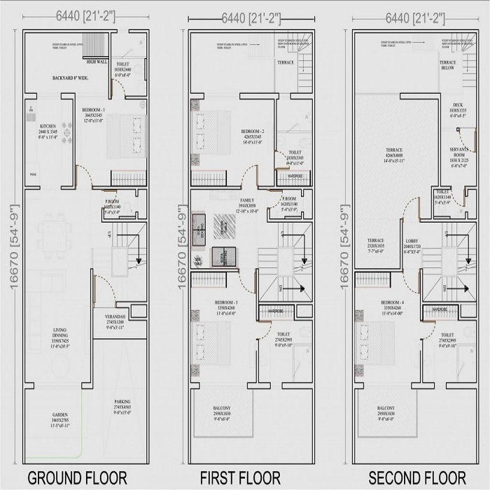 aarcity i foreste floor plan