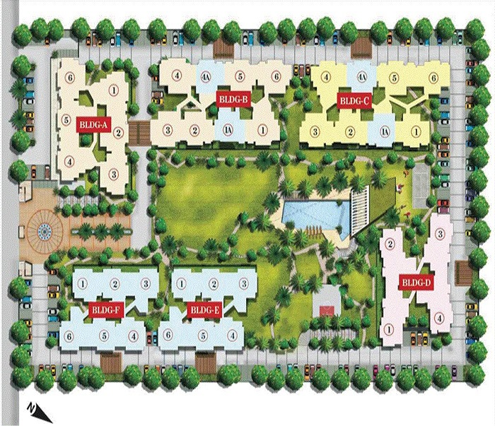aarcity i foreste site plan