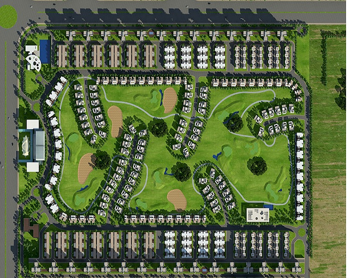 amrapali the hemisphere site plan