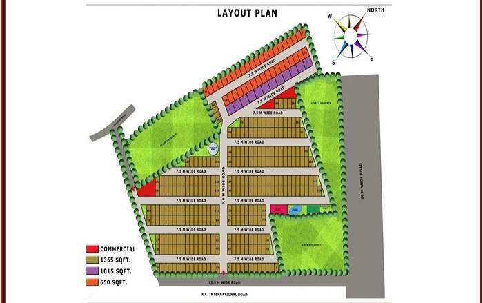 lotus villas site plan