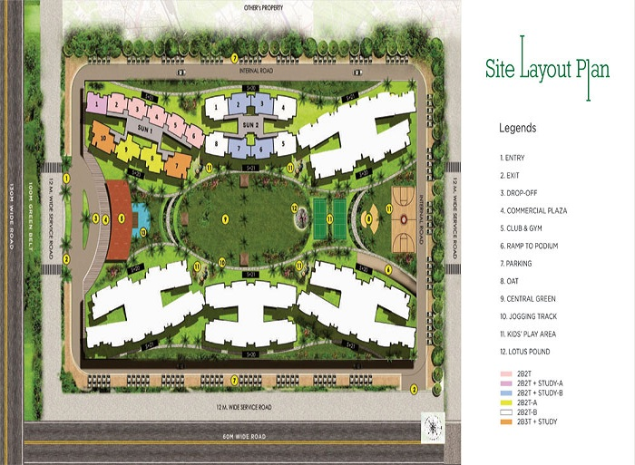 migsun ultimo site plan