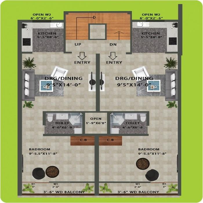 sai upvan floor plan