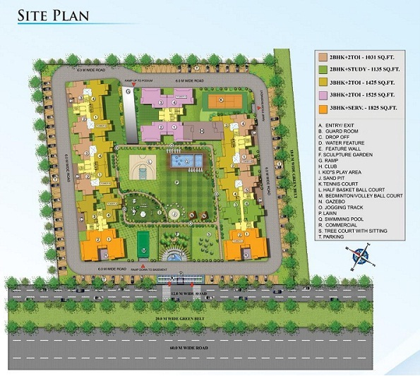 nirala splendora site plan