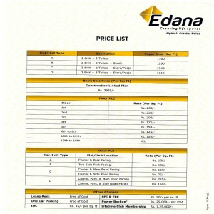 spacetech edana price list