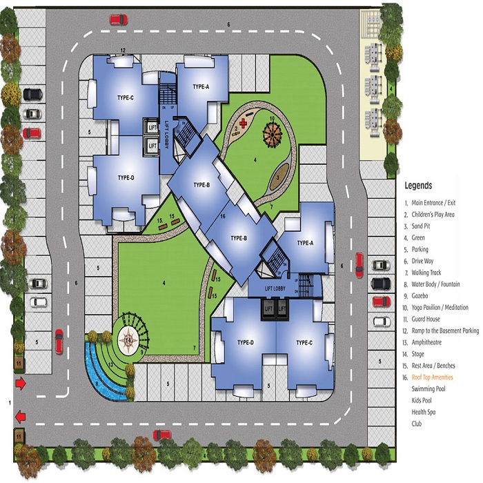 spacetech edana site plan